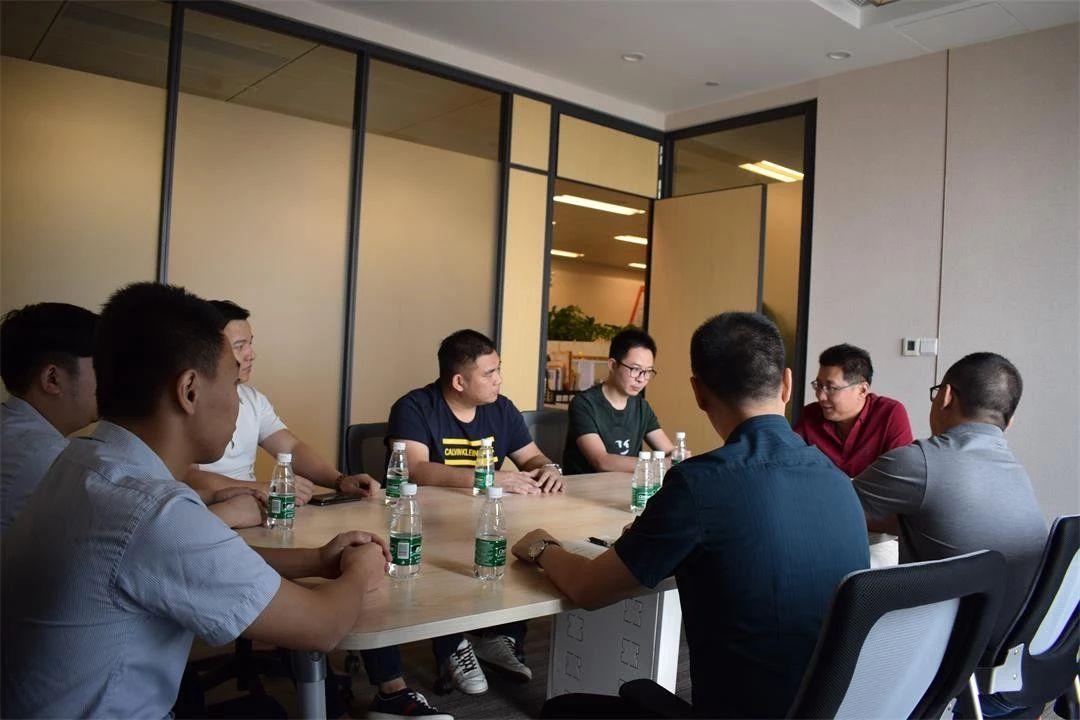 【协会动态】梅州裕鑫小贷代表团一行访问省小贷协 开展交流活动